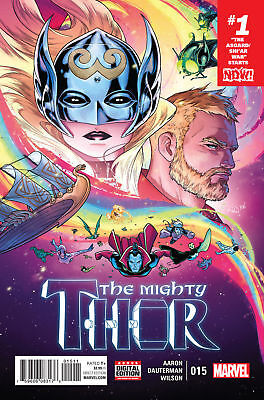 MIGHTY THOR #15 NOW (MARVEL 2017 1st Print) Comic. Boarded. Free UK P&P