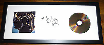 ROLLING STONES-A Hand Signed & Framed Presentation with COA-UNIQUE Item