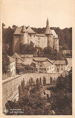 BR55191 Le chateau Clervaux luxembourg