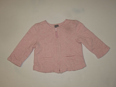 Baby Gap Girls White, Quilted Coat, Size 12 - 18 months