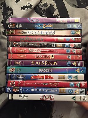 Mixed Disney DVD Bundle (some classics and sealed)