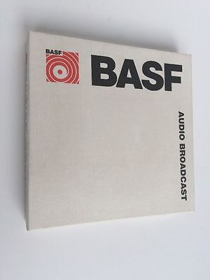 Brand New & Boxed BASF Audio Broadcast Reel To Reel Tape