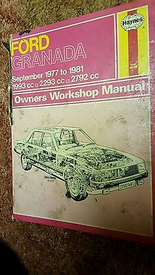 haynes workshop manual Granada