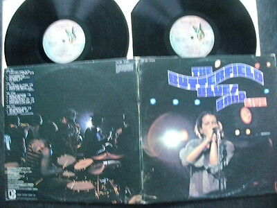 """The Butterfield Blues Band Double Lp""""live""""1971Elektra+Gatefold Cover+A1/b1/c1/d1"""
