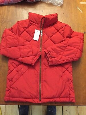 Baby Gap Quilted Jacket Size 5 Red