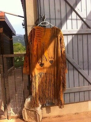 Native american warshirt tanned
