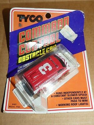 Tyco, TCR Command Control, Maintenance Van, HO Scale Slot Car (New in Package)
