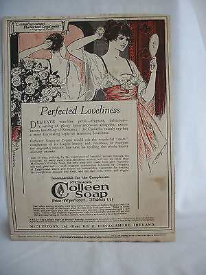Advert from Punch..Colleen Soap Perfected Loveliness