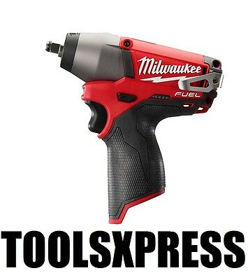 """Milwaukee M12CIW38-0 12V Fuel Li-Ion Cordless 3/8"""" Impact Wrench  TOOL ONLY"""