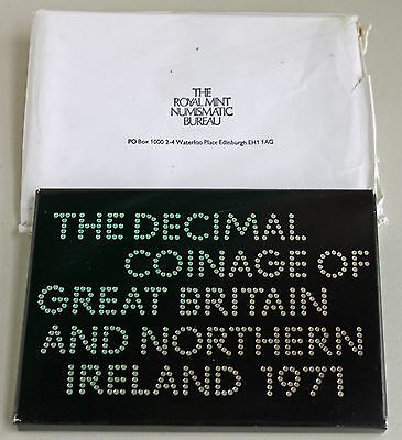 1971 Decimal Coinage Great Britain Northern Ireland 6 Coin PROOF set Royal MintR
