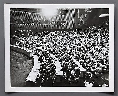 Maria Bordy Silver Gelatin Photo 25x20 United Nations UNO Photography Russia 50s