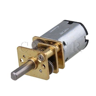 1.2cm Metal GA12-N20 200RPM Mini DC12v Gear Electric Motor Gearwheel Silver