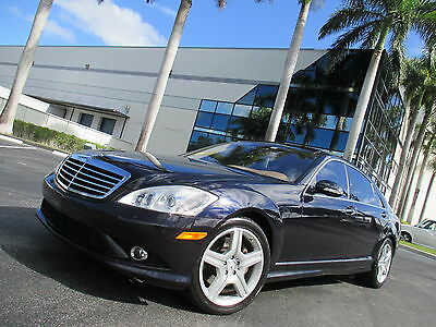 2008 Mercedes-Benz S-Class S550 UPER NICE S550 4MATIC LOADED FLORIDA CAR LOTS OF FEATURES GORGEOUS!!! MUST SEE!