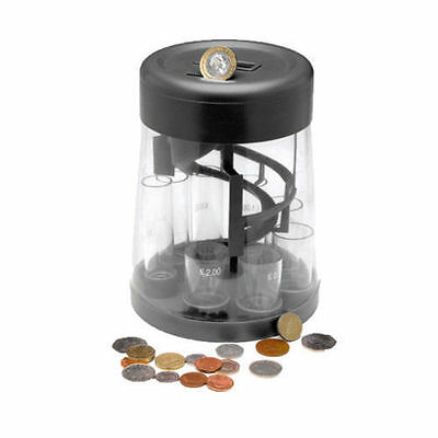 Digital Piggy Bank  Money Jar Coin Counter Sorter Change Counting Lcd Display