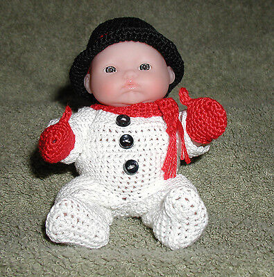 """Snowman Itty Bitty Baby - 5"""" Lots to Love Babies"""
