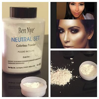 100% Genuine Ben Nye Neutral Set Powder❤️Free Post❤️3g SAMPLE