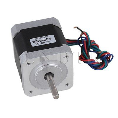 DC12V .8A Two-phase Stepping Motor SL42STH48-1804A Silver