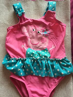 Peppa Pig Swimsuit 9-12 Months