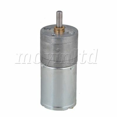 DC12V 1200RPM 25GA370 Mini DC Gear Box Reduce Electric Motor