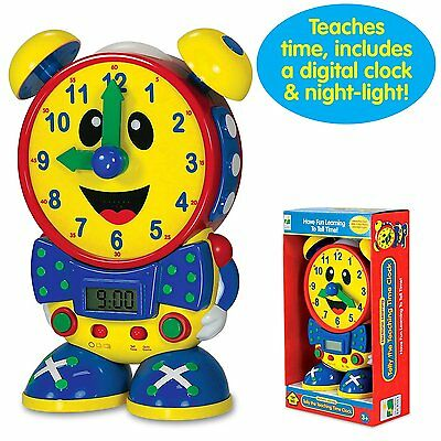 Kids Learning Time Telly The Teaching Time Clock