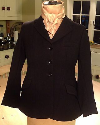 Childs Black Riding Jacket by Rosette
