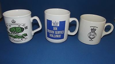 Original Prison Mugs Woodhill Holloway & Birmingham Collectable