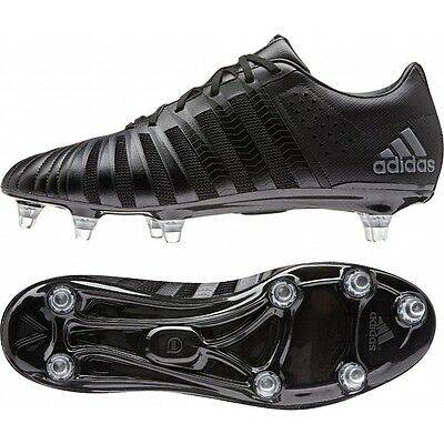 Adidas FF80 Pro 2.0 XTRX All Blacks Rugby Boots SG UK 10 LAST PAIR! RRP £149.99