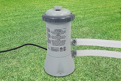 "Genuine Intex Pool PUMP & FILTER 2006 Litres per hour (530gph) Uses ""A"" Filter"