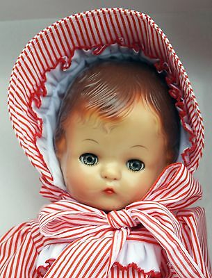 Effanbee Patsy Joan - Red and White Stripped Dress - MV248 - Mint in Box