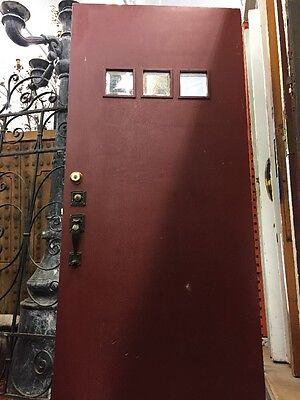 "Front door 36""x79"" Craftsman Spanish Bungalow Old 1920's"