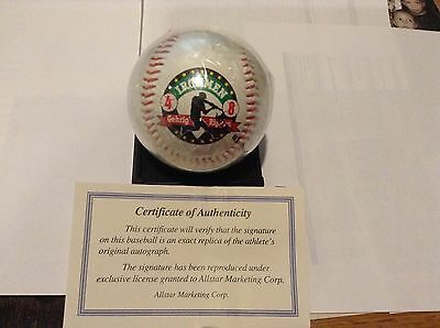 Ironman baseball Ripkin/Gehrig authgraphed
