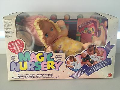 Magic Nursery NEW IN BOX Mattel Doll Baby Newborn Boy Or Girl? Rare Vintage Item
