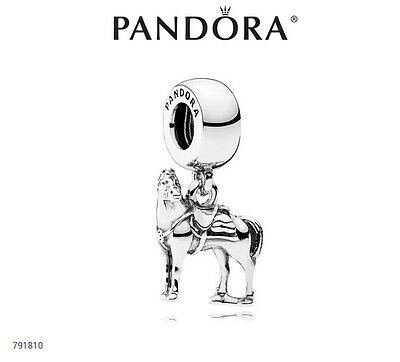 PANDORA Charm Sterling Silver ALE S925 DISNEY FROZEN HORSE DANGLE 791810