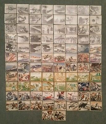War News Pictures R165,Gum Inc.Trading Card Lot (82) 1939
