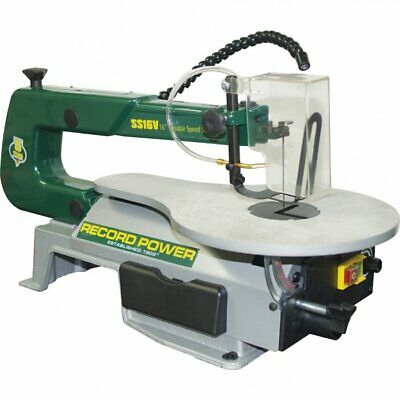 "RECORD POWER Scroll Saw 406mm (16"") Throat Depth  PART NO. = SS16V"
