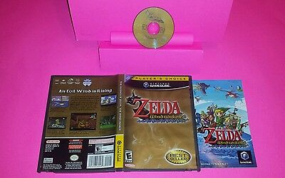 Legend of Zelda: The Wind Waker (Nintendo GameCube, 2003) PLAYERS CHOICE CIB