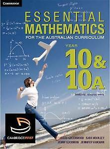 Essential Mathematics for the Australian Curriculum Year 10 and 10A by Franca...