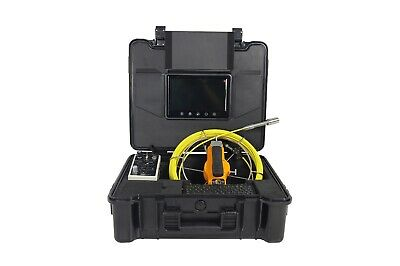 Testrite 30 Metre Drain & Sewer CCTV Camera Inspection System with Transmitter