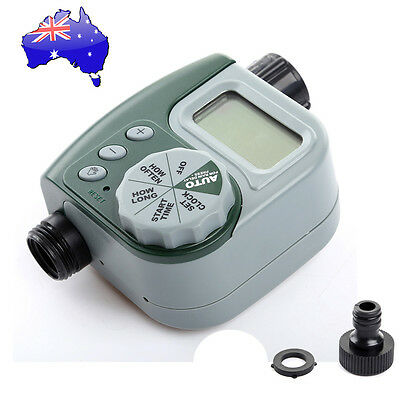 Garden Water Tap Timer LCD Valve Automatic Electronic Irrigation Controller AU