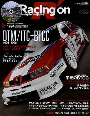 [BOOK+DVD] Racing on 485 DTM ITC BTCC ALFA ROMEO 155 V6 TI Opel Calibra AMG C