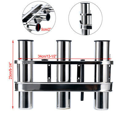 Fishing rod holder insert Suits Stainless Steel Rod Holders x 6 Pieces 50.8MM OD