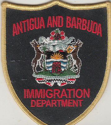 Antigua and Barbuda Immigration Department. Mint Patch.