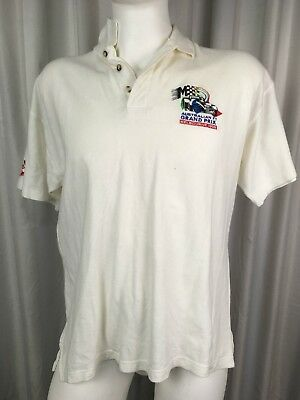 Transurburban Australian Grand Prix Melbourne 1996 White Polo  LArge Holden F1