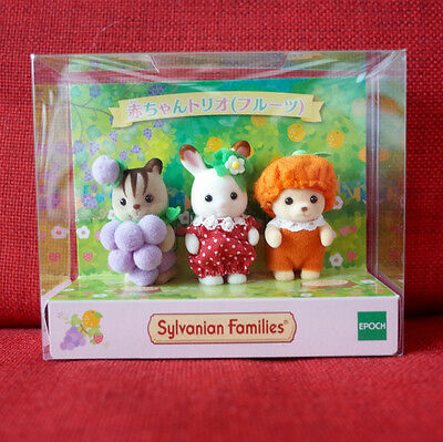 Calico Critters Sylvanian Families FRUITS TRIO Epoch Japan Limited