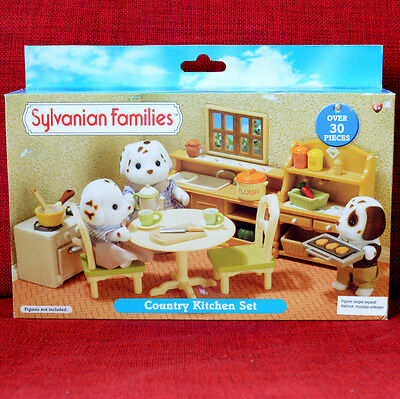Calico Critters Sylvanian Families COUNTRY KITCHEN SET Flair