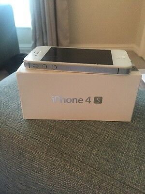 Apple iPhone 4s - 8GB - White (O2) Smartphone