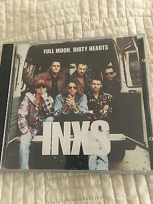 INXS full moon dirty hearts CD u2 midnight oil simple minds icehouse the cars