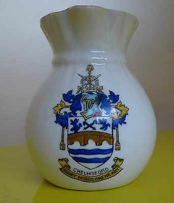 Chelmsford, Essex - crested chinaware jug