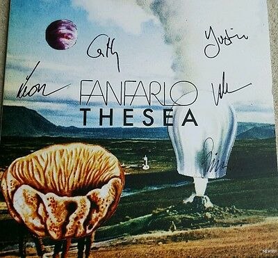 Fanfarlo - The Sea  SIGNED EP