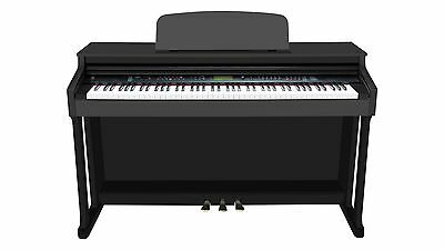 Ringway Digital Piano in Polished Black Cabinet